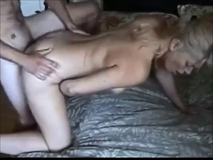 Big boobed wife fucked by younger boy