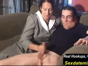 Stepmom & Stepson Affair 77 an Embarrasing Handjob